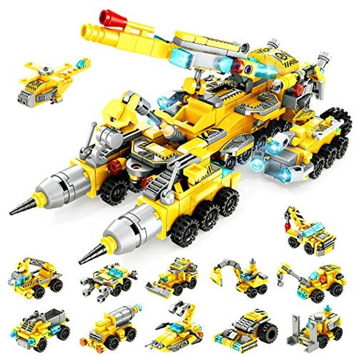 Cheap VATOS City Great Vehicles Construction Building Playset - Only £5.95!