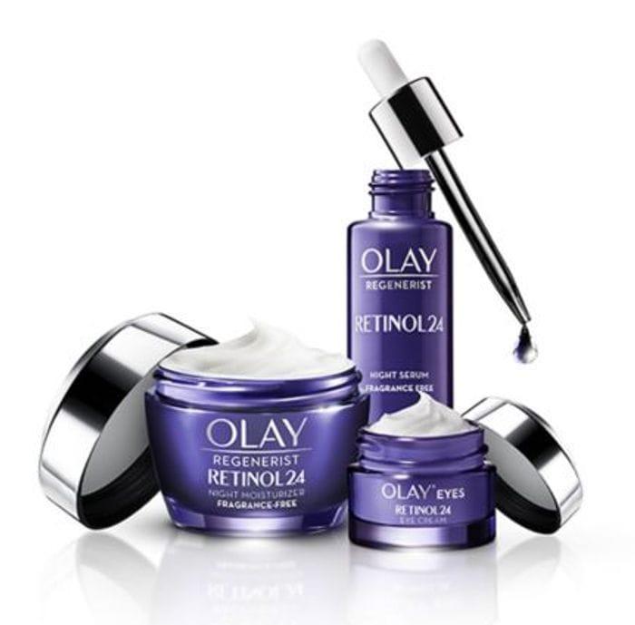 Olay Regenerist Retinol24 Night Skincare Bundle - Only £44.99 with Code