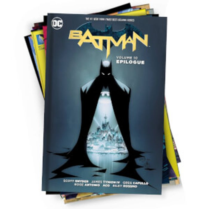 DC Comics Mystery Graphic Novel 10 Pack - Only £15.99!
