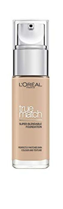 L'Oreal Paris True Match Liquid Foundation, Infused with Hyaluronic Acid