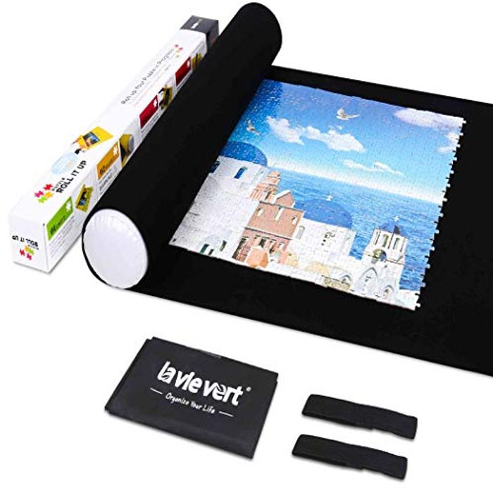 Lavievert Jigsaw Puzzle Roll Mat - up to 1,500 Pieces