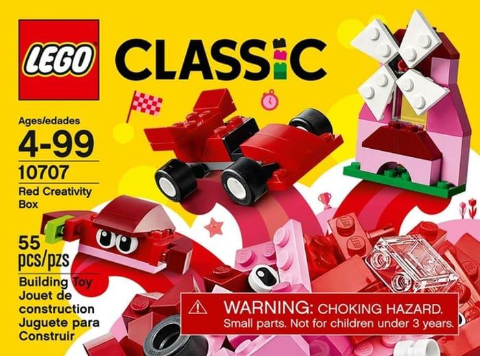 Cheap LEGO Classic Red Creativity Box - Now £5.99!