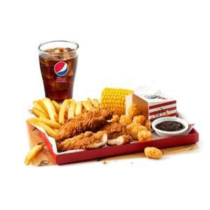 KFC Boneless Banquet for One via App