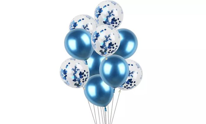 Best Price! 20-Piece Set of Mixed Confetti and Metallic Balloons