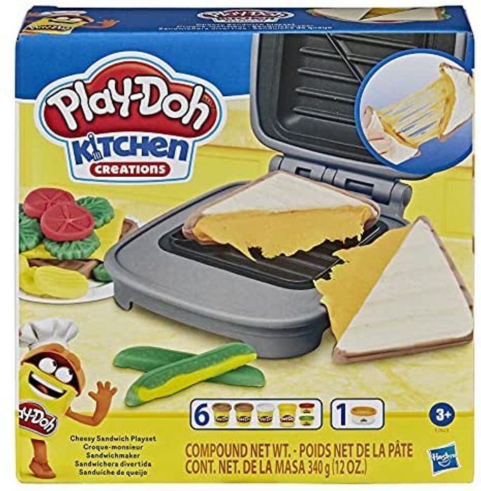 Play-Doh Kitchen Creations Cheesy Sandwich Play Food