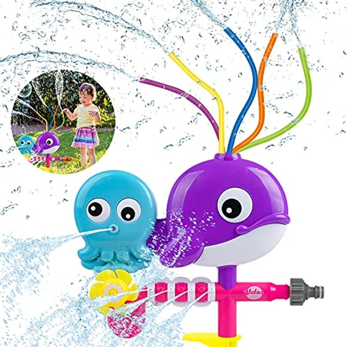 CHEAP! Water Sprinkler Toy for Kids
