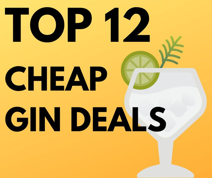 Top 12 Cheap Gin Deals - All With Prime Delivery!