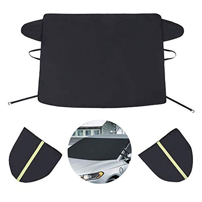 Car Windscreen Cover with 2 Mirror Covers - Only £5.99!