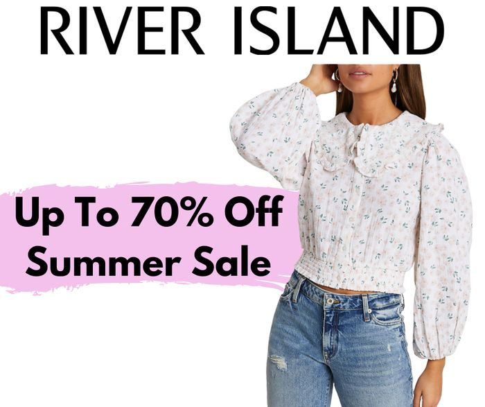 River Island Up To 70% Off Summer Sale
