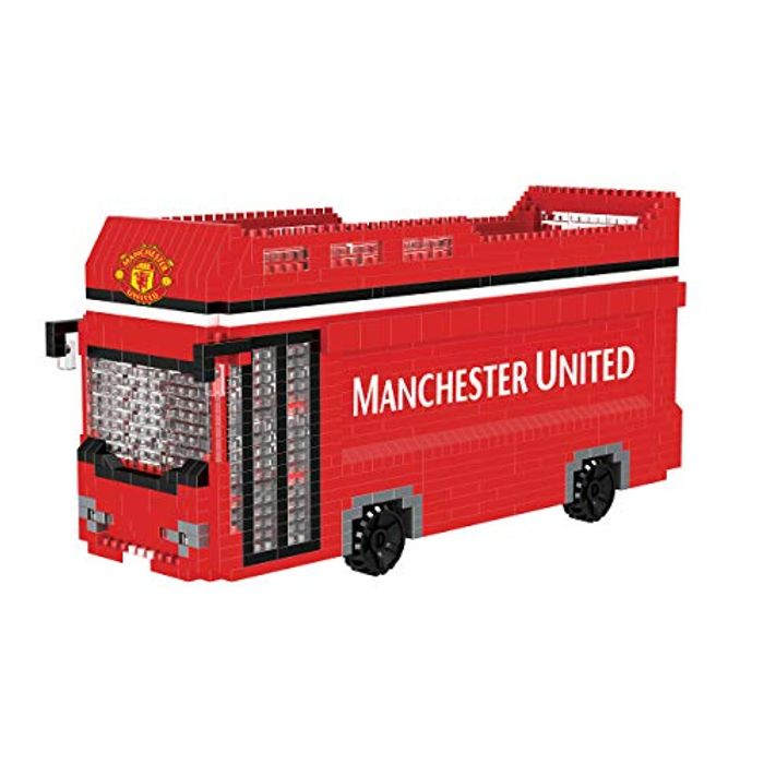 Manchester United FC BRXLZ Construction Bus - Only £11.40!