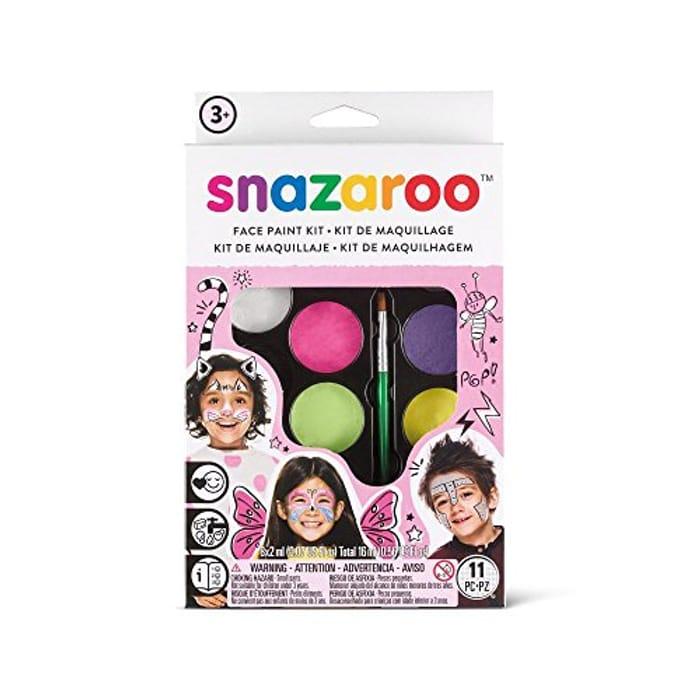 Snazaroo SZ1180104 Fantasy Face Paint Palette Kit