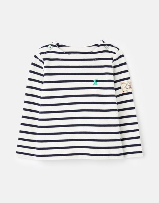 Harbour Organically Grown Cotton Harbour Top 0-24 Months by Joules