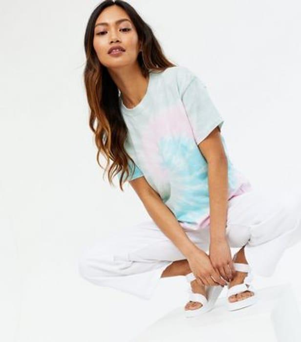 Honey Behave Multicoloured Tie Dye Jersey T-Shirt