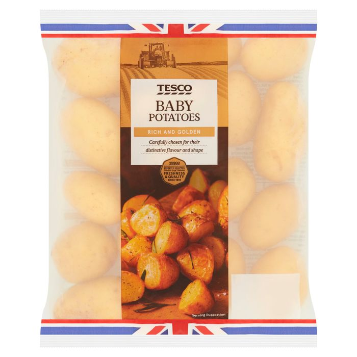 Tesco Baby Potatoes 1Kg Clubcard Price