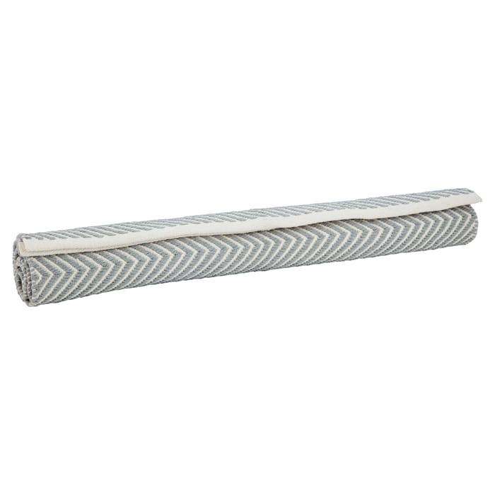 Tesco Zig Zag Stripe Rug (130x80cm)