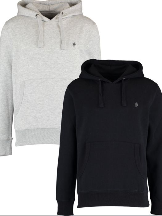 Best Price! FRENCH CONNECTION Grey & Black Hoodie Set