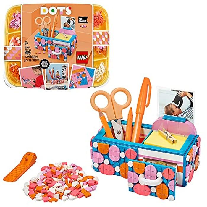 Dots LEGO 41907 Desk Organiser DIY Arts and Crafts for Kids - Now £10!
