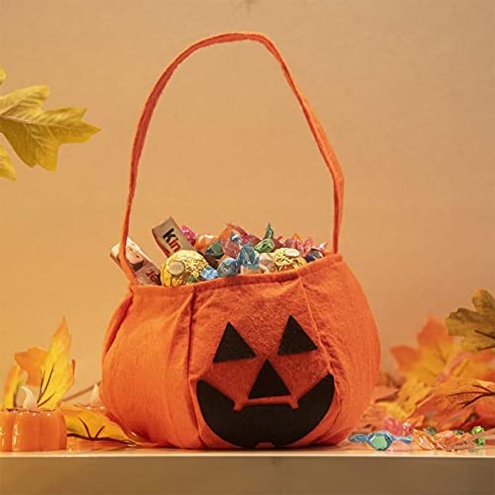 EAMBRITE Halloween Pumpkin Candy Bag
