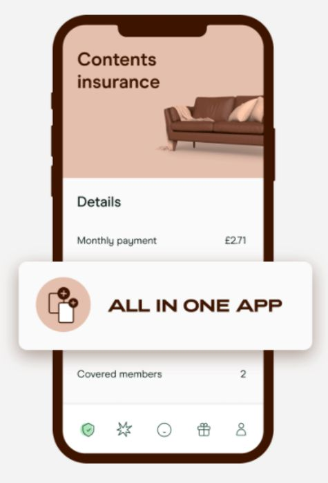 FREE Up To 22 Months Home Contents Insurance Via £60 Instant Credit!