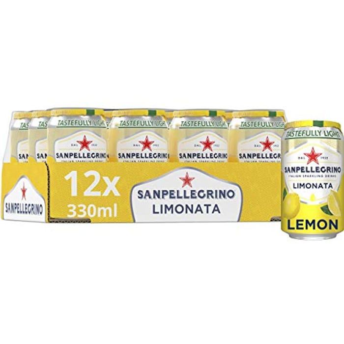 San Pellegrino Lemon, 12 X 330ml