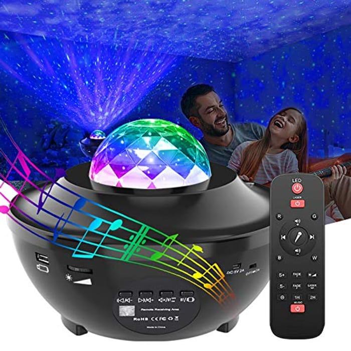 Gemoor LED Galaxy Star Projector
