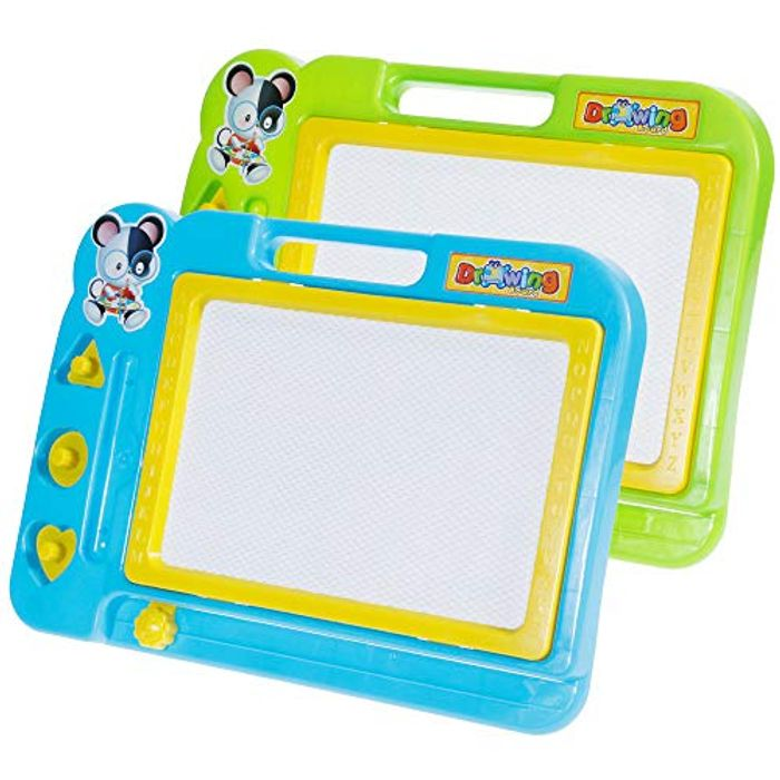 Faburo 2 Pcs Magnetic Drawing Board - Only £4.80!