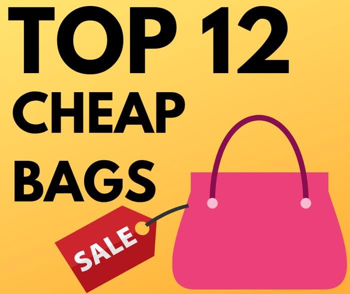 Top 12 Cheap Handbags Under £10 - From £3.20!