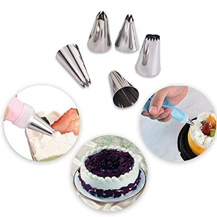 25Pcs Cake Decorating Nozzle Set