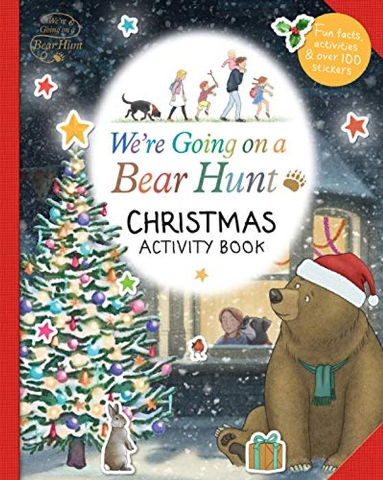 We're Going on a Bear Hunt: Christmas Activity Book - Only £4.17!