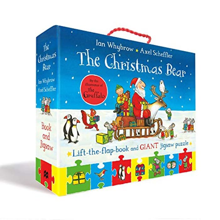 Best Price! The Christmas Bear Book and Jigsaw Set - Only £9.80