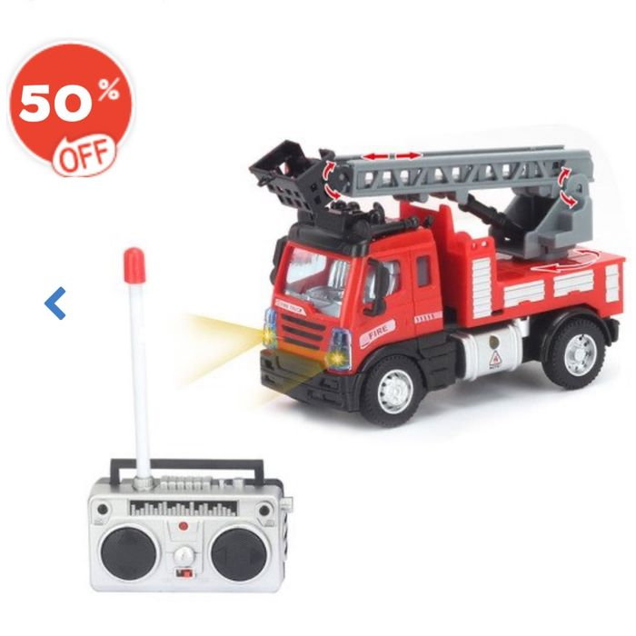 Remote Control 1:64 Fire Engine - 50% off at the Entertainer