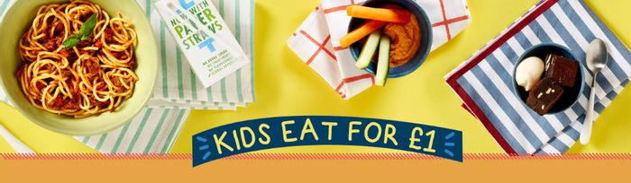 Kids Eat for £1 with the Purchase of an Adult Meal at Bella Italia £1