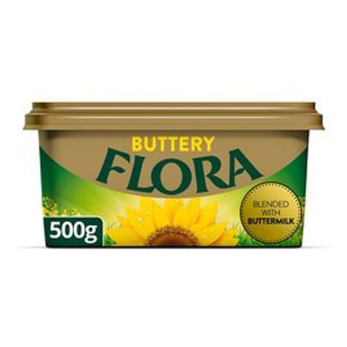 Flora Buttery, Flora Light Vegan, Flora Dairy Free