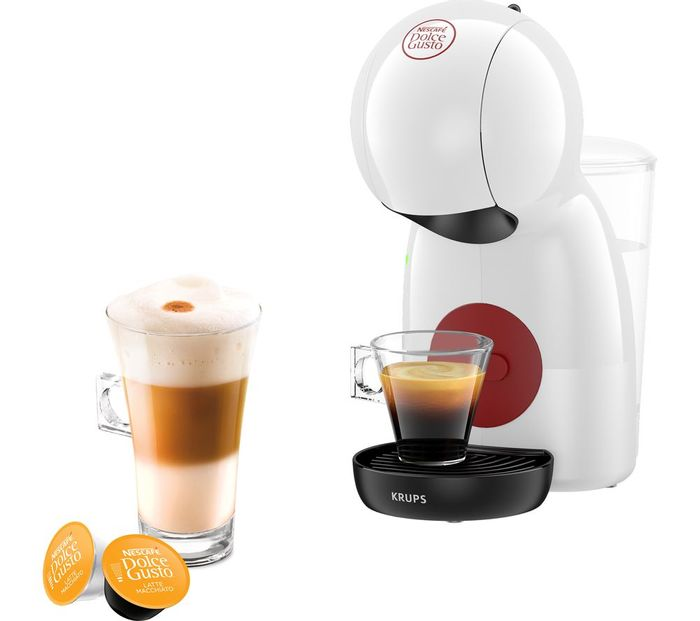 *SAVE £10* DOLCE GUSTO by KRUPS Piccolo XS Coffee Machine - White