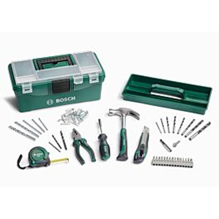 *SAVE over £14* Bosch 73 Piece Home Tool Kit - Green