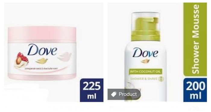 Star Buy! Now £2.93 on Dove Scrubs,Better Then 1/2 Price on Mousse £1.98