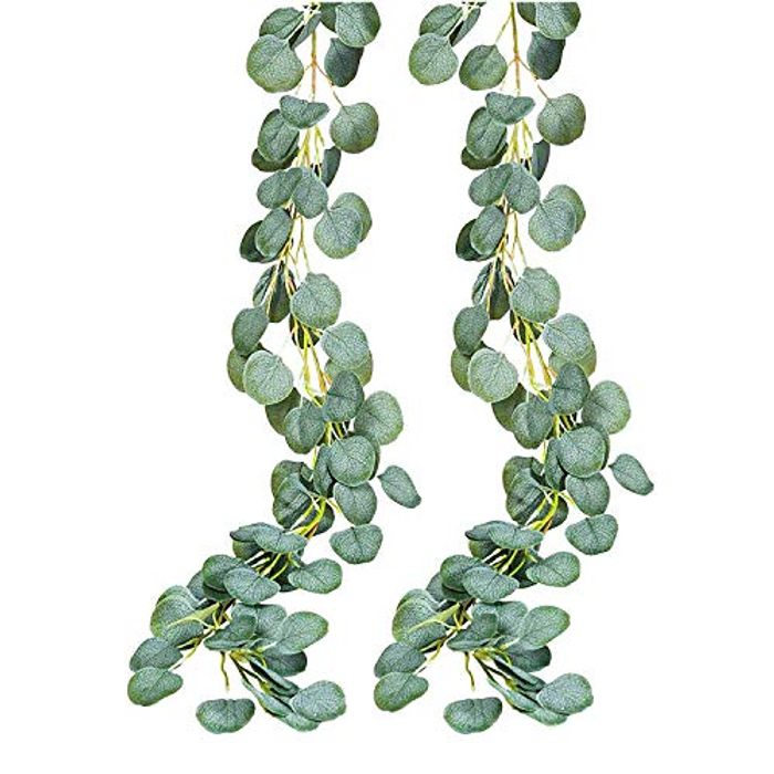 INPHER Artificial Eucalyptus Greenery Garland Decoration Plants - Only £13.99!