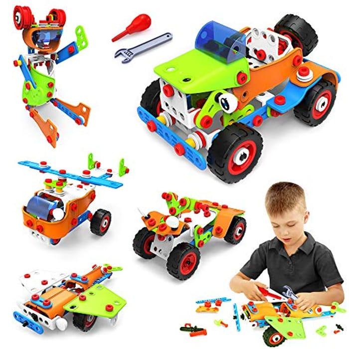 DEAL STACK - VATOS STEM Learning Creative Building Toys Blocks Kit + 50% Coupon