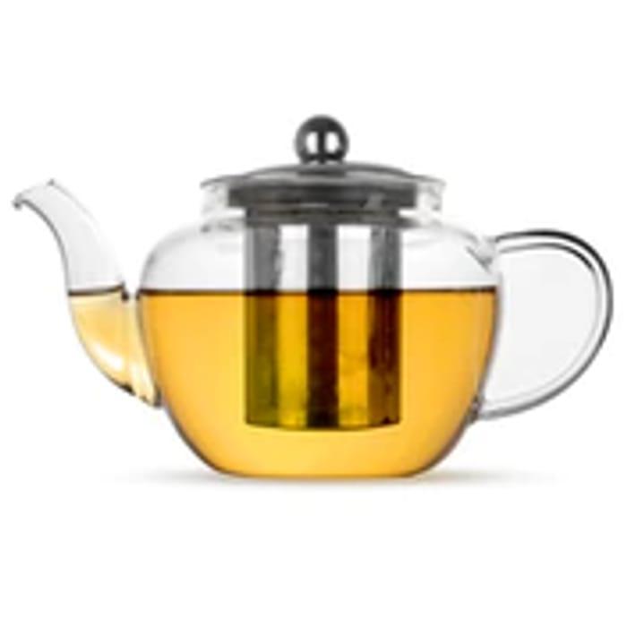 Glass Infuser Teapot | M&W 600ml