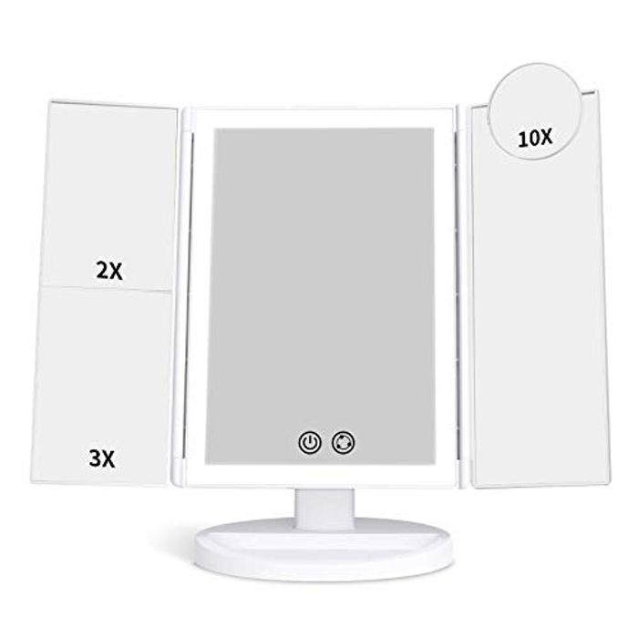 Vanity Makeup Mirror with 72 LED Lights and 3 Colour Modes