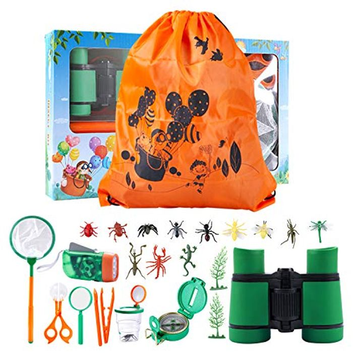 Kuyou 25 Pack Kids Outdoor Explorer Set - Only £7.99!