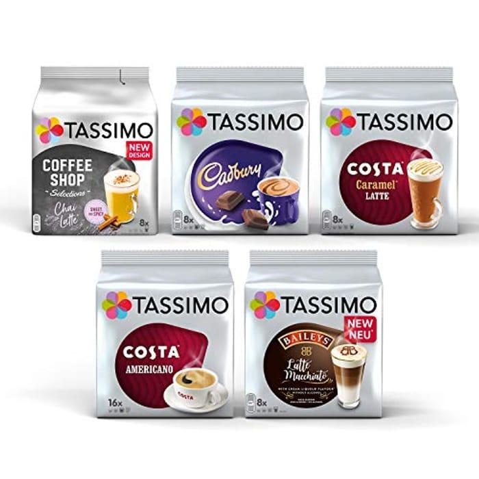 Tassimo Coffee Selection