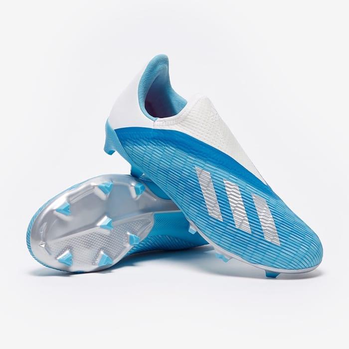 CHEAP! Adidas Junior X 19.3 Laceless FG Firm Ground Less than Half Price!