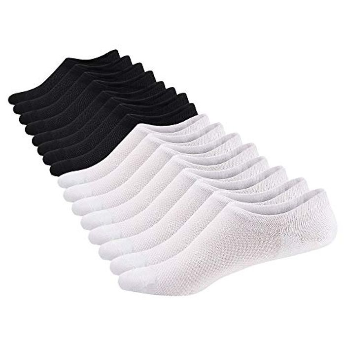 SIXDAYSOX Cotton Non Slip Sports Ankle Socks for Men & Women - Only £5.60!