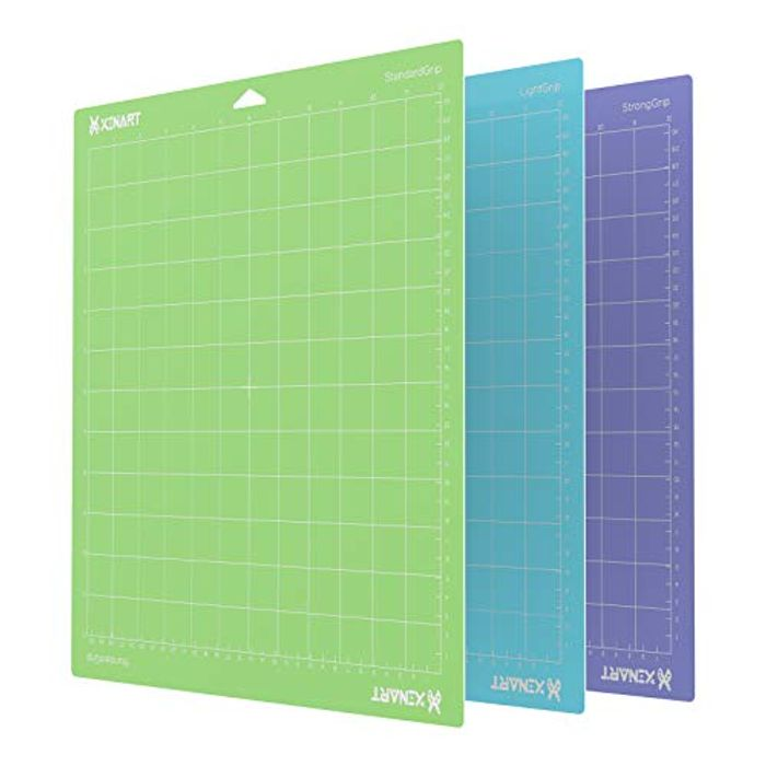 Xinart Adhesive Sticky Cutting Mat for Cricut Maker, 3Pack - Only £8.99!
