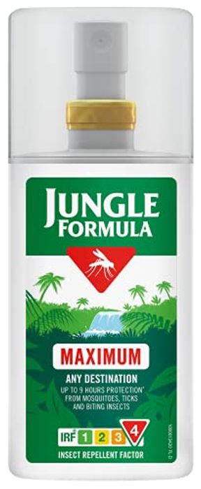 Jungle Formula Insect Repellent Spray Pump, 90 Ml - Only £3.79!