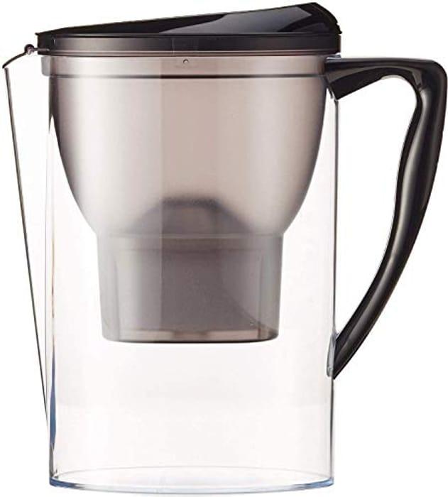 Amazon Basics Water Filter Jug 2.3L - Black - Only £10.94!