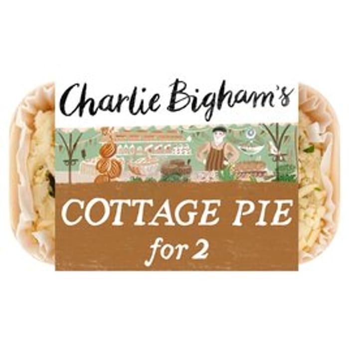 Charlie Bighams Cottage Pie650g/Lasagne690g/Chicken Tikka Masala/Thai Red Curry
