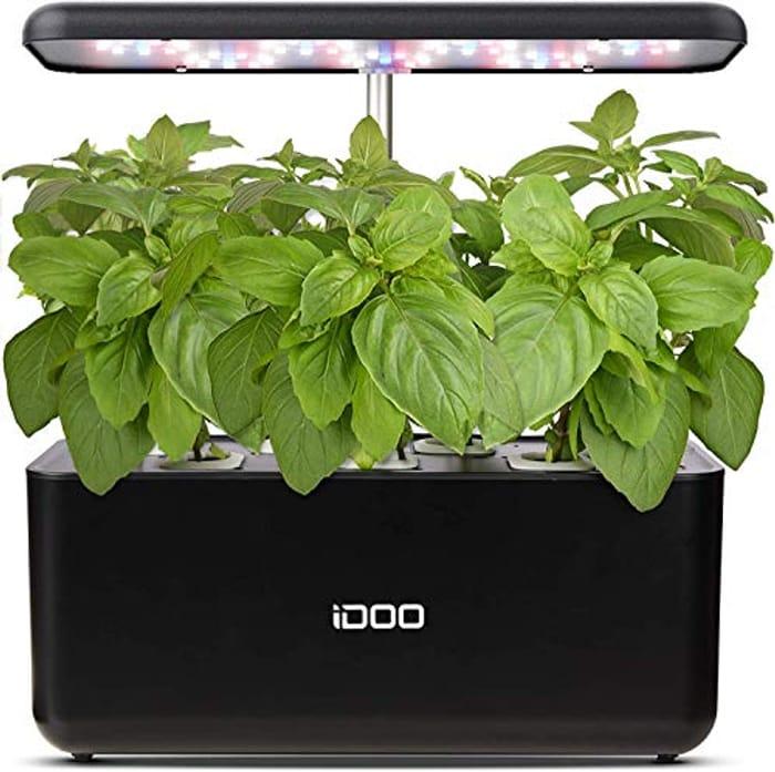 iDOO Smart Garden with 24W LED Grow Light