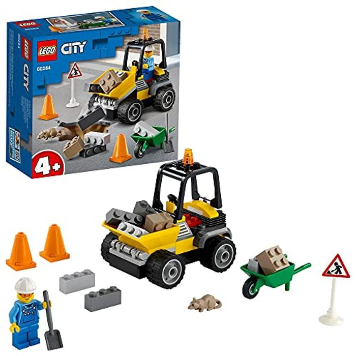 LEGO 60284 City Great Vehicles Roadwork Truck